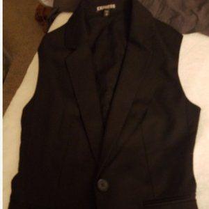 express business vest new XS